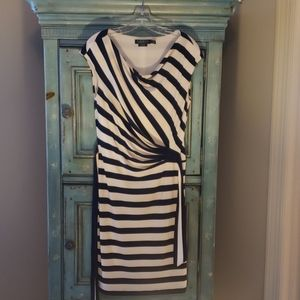 Ralph Lauren Blue & White stripe dress size 10